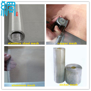 EMI/RFI/EMR Shielding Stainless Steel Wire Mesh Fabric