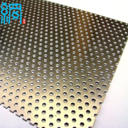 Decorative metal perforated sheet
