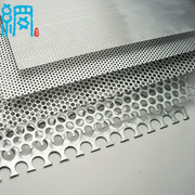 Galvanized steel perforated metal sheet