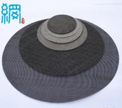 Cut sizes circle punched metal mesh discs