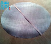Wire mesh cut circles