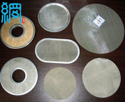 304, 316 Stainless Steel Filter Disc For Plastic Recycling