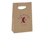 Die Cut Handle Kraft Paper Bag | PapaChina