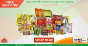 FREE SHIPPING on orders over $79.00 in Melbourne| India At Home