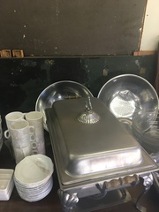 Catering equipment used $120.00