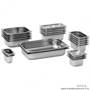 GN14100 1/4 X 100 mm Gastronorm Pan Australian Style
