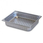 Robinox Perforated Steam Table Pan - 1/1 Size,  100mm Deep Z11100-P