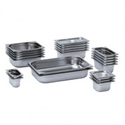 Mixrite Gn Pans (201 Stainless Steel) 353X325X100 23100